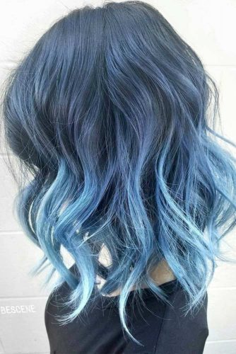 Pastel Hair with Blue Locks picture2