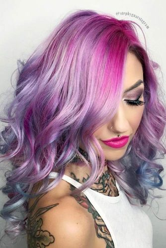 Pastel Hair with Blue Locks picture3