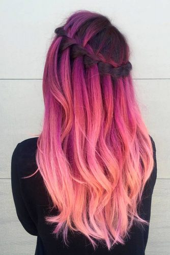 Pastel Braided Hairstyles picture1