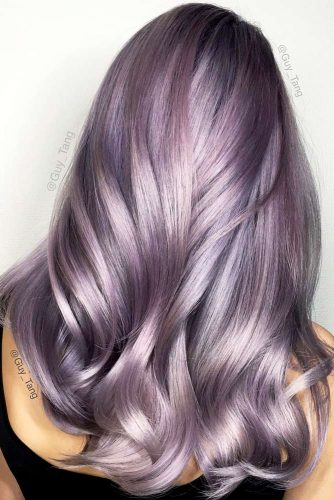 Wavy Hairstyles with Pastel Ombre Hair picture4