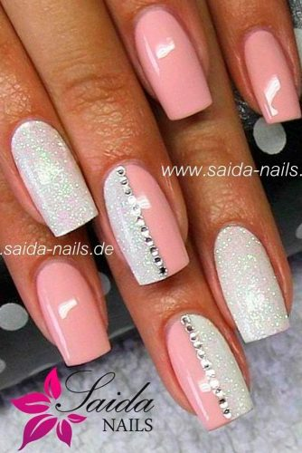 Cute Light Pink Nails picture 1