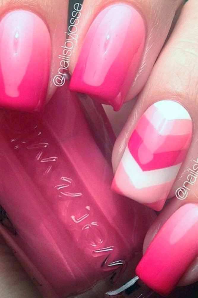 Bright Pink Nail Designs picture 2