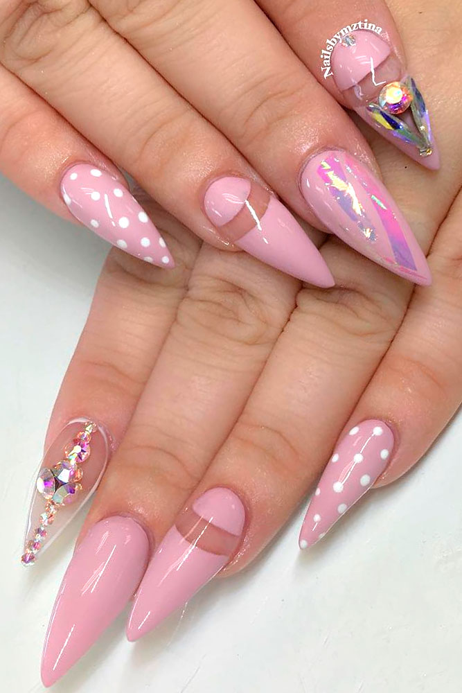 Charming Pink Nail Designs picture 2
