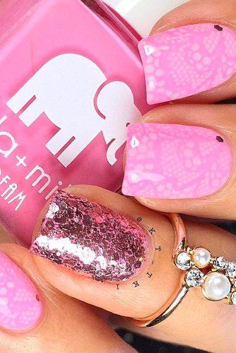 Beautiful Pink Nail Art picture 3