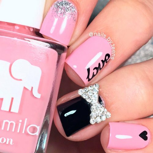 Romantic Pink Nails picture 1