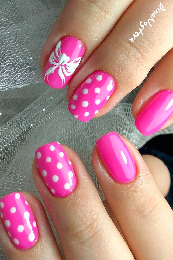 Bright Designs for Pink Nails picture 2