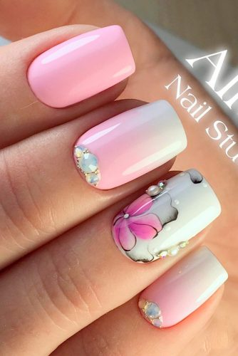Lovely Pink Nail Art picture 1