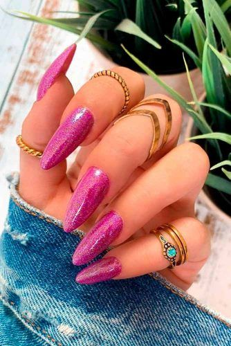 Bright Holographic Nails #holonails #brightnails