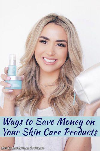 Buy drugstore brands for skin care