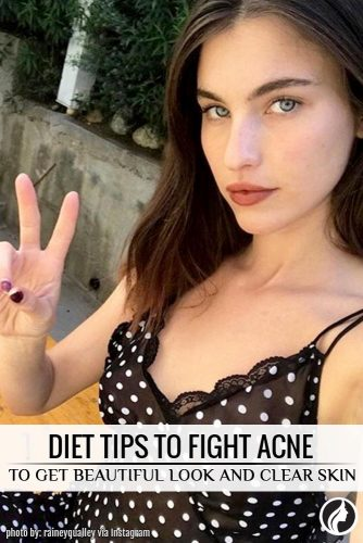 Diet Tips To Fight Acne And To Give You Clear Skin