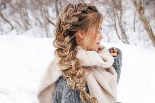 Hair How-To: Big French Side Braid
