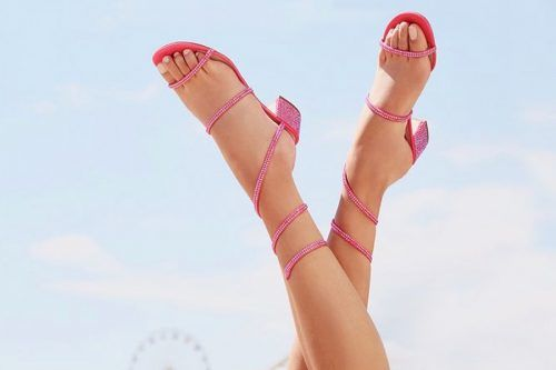 Ladies Pink Shoes Collection for Any Occassion