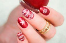 Unique And Beautiful Winter Nail Designs