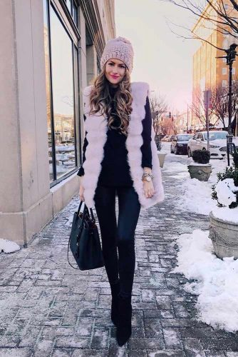 Winter Outfits with Fur picture 2