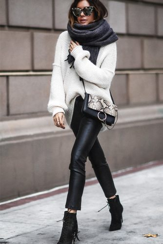 Winter Outfits with Scarves picture 1
