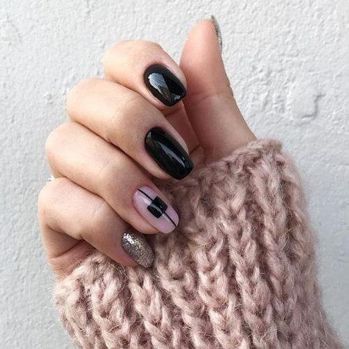 Classy Nail Design Ideas for Winter Picture 2
