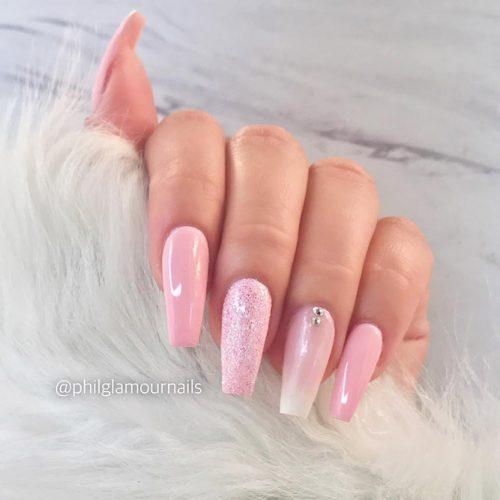 Simle Pastel Nails Design Picture 2