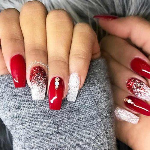Glitter Winter Nail Designs picture 1
