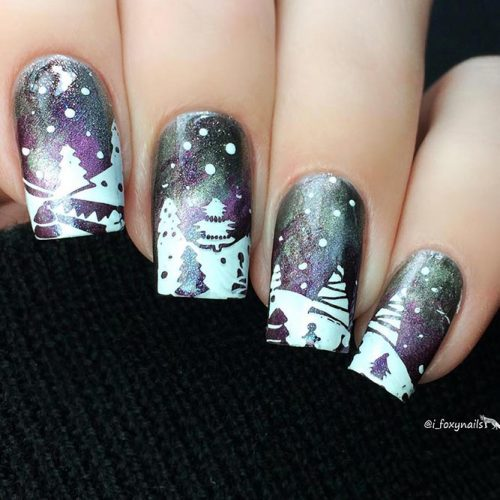 Winter Arts Ideas for Nails Picture 1