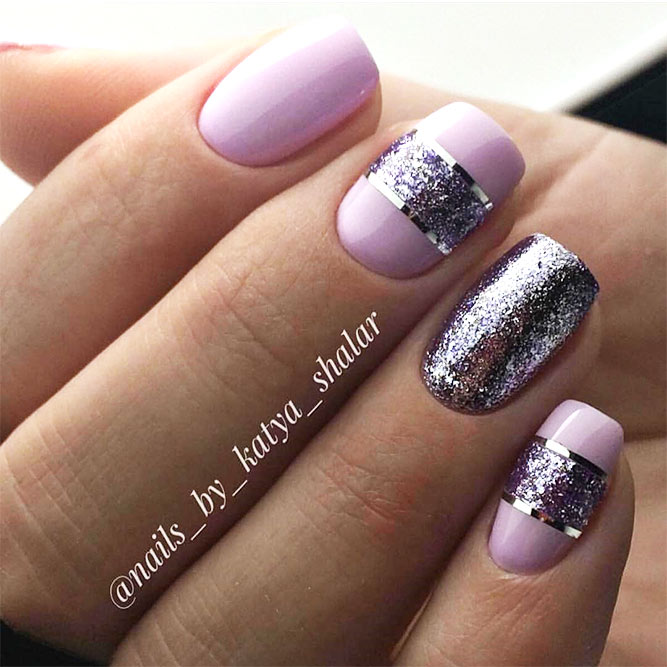 Classy Nail Design Ideas for Winter Picture 1