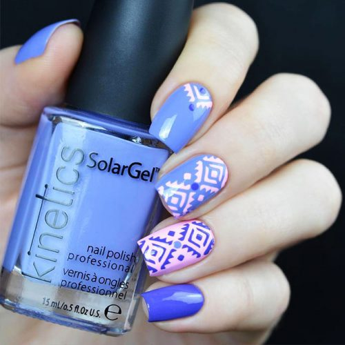 Patterned Winter Nail Designs picture 4