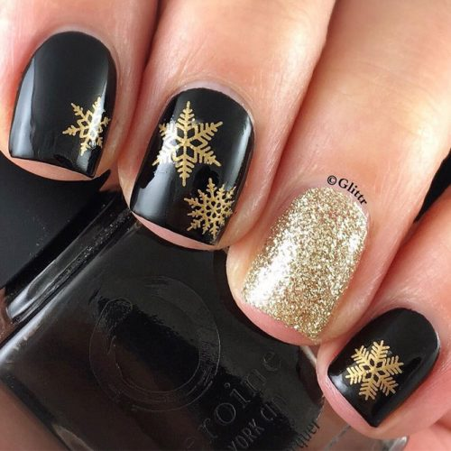 Patterned Winter Nail Designs picture 5
