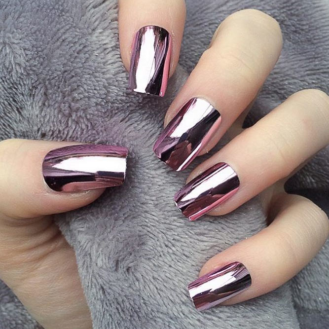 Glitter Winter Nail Designs picture 4