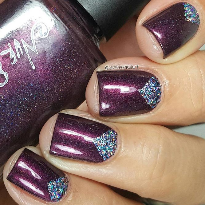 Glitter Winter Nail Designs picture 6