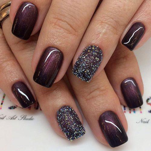 Glitter Winter Nail Designs picture 3