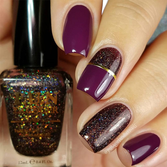 Glitter Winter Nail Designs picture 5