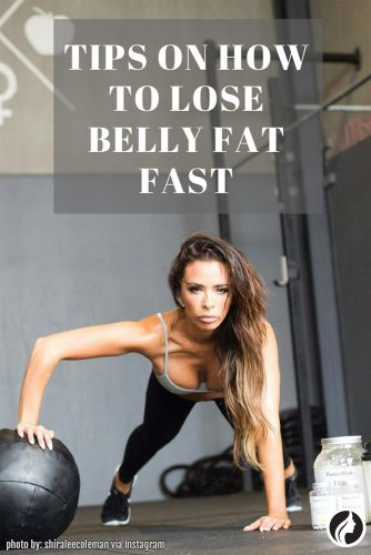 5 Ways How To Lose Belly Fat Fast with the Proper Exercises