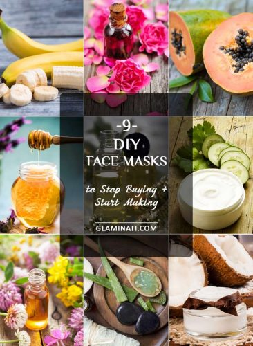 Best DIY Face Masks for Beauty and Healthy Skin - Collage