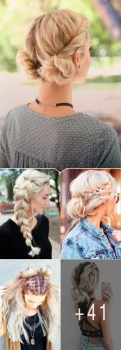 Easy Hairstyles For Spring Break