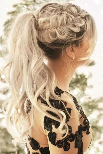 Side Braids To Achieve A Faux Hawk Style picture3