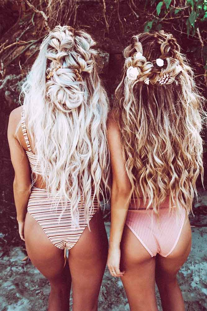 Messy Bohemian Hairstyles For Long Hair