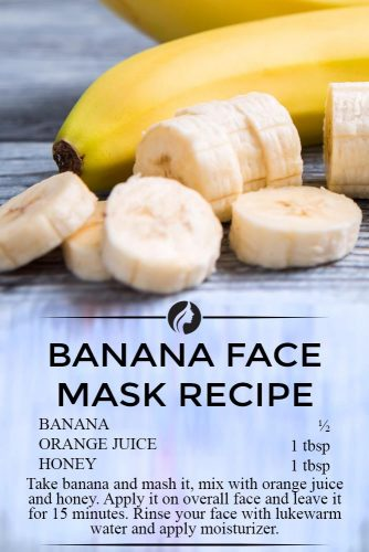 Banana Face Mask Recipe for Beauty and Healthy Skin