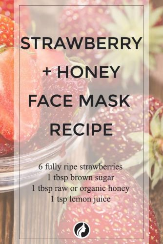 Strawberry and Honey Face Mask Recipe