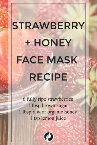 Strawberry and Honey Face Mask Recipe