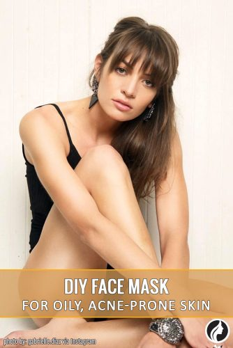 DIY Face Mask for acne-prone skin