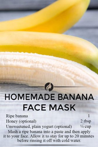 Best Homemade Banana Face Masks for Healthy and Beauty Skin