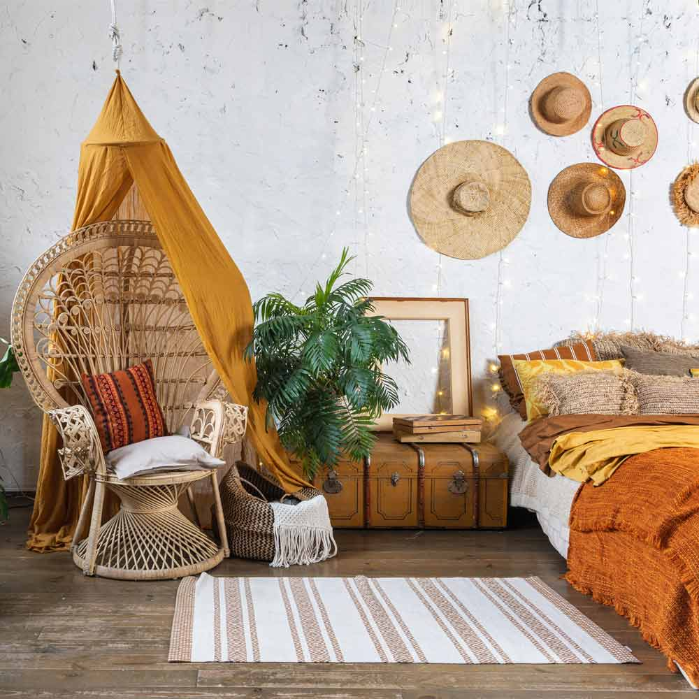 Boho Bedroom Design