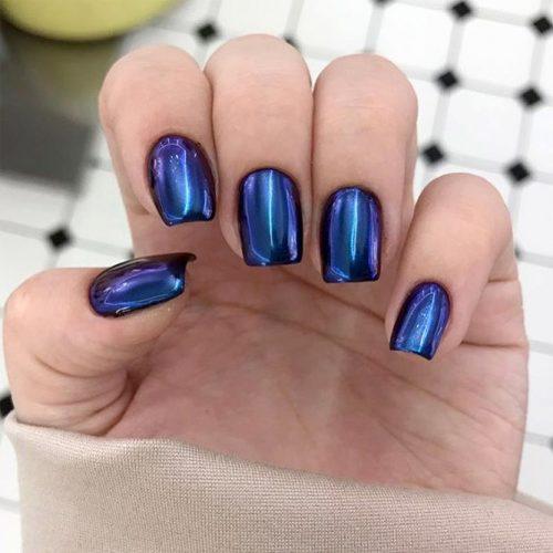 Cute Metallic Nail Designs picture1