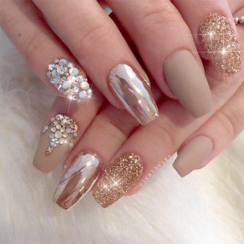 Cute Metallic Nail Designs picture4