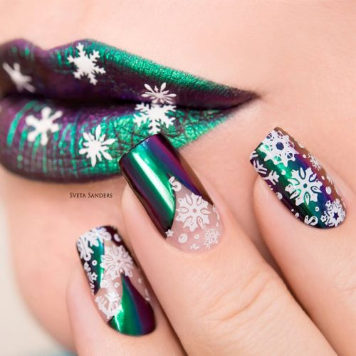Cute Metallic Nail Designs picture6