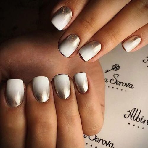 Cute Metallic Nail Designs picture3