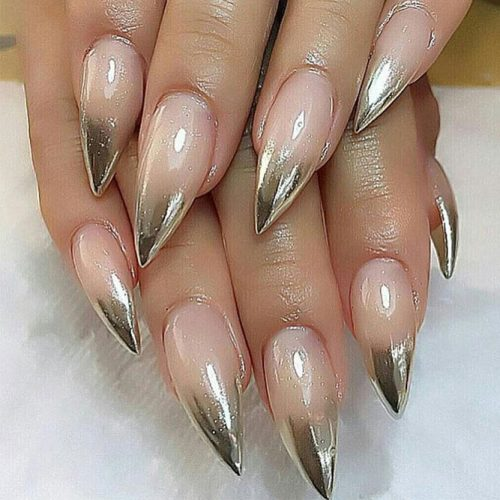 Hottest Chrome Nails Design picture6