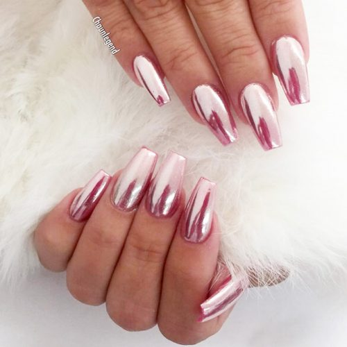 Pink Chrome Nail Designs picture1
