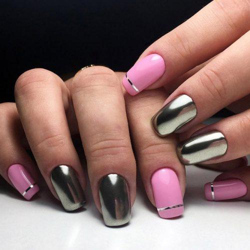 Cute Metallic Nail Designs picture2