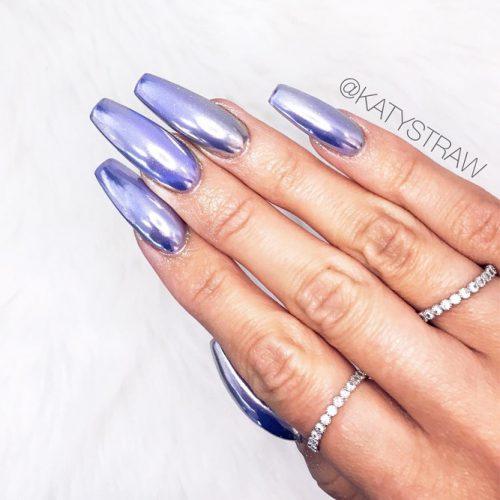 Hottest Chrome Nails Design picture2