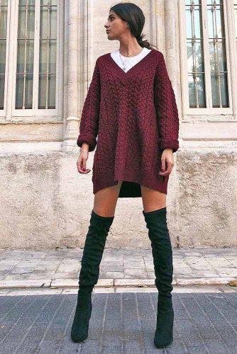 Cozy Dress Outfit Ideas picture 4